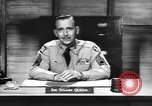 Image of Captain Audie Murphy of 36th Division Texas National Guard Korea, 1950, second 60 stock footage video 65675061702