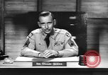Image of Captain Audie Murphy of 36th Division Texas National Guard Korea, 1950, second 62 stock footage video 65675061702