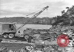 Image of American Army Corps of engineers rebuilding a bridge in South Korea during hostilities Korea, 1951, second 1 stock footage video 65675061713