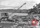 Image of American Army Corps of engineers rebuilding a bridge in South Korea during hostilities Korea, 1951, second 2 stock footage video 65675061713