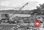 Image of American Army Corps of engineers rebuilding a bridge in South Korea during hostilities Korea, 1951, second 3 stock footage video 65675061713