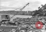 Image of American Army Corps of engineers rebuilding a bridge in South Korea during hostilities Korea, 1951, second 4 stock footage video 65675061713