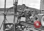 Image of American Army Corps of engineers rebuilding a bridge in South Korea during hostilities Korea, 1951, second 5 stock footage video 65675061713
