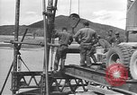 Image of American Army Corps of engineers rebuilding a bridge in South Korea during hostilities Korea, 1951, second 6 stock footage video 65675061713