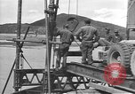 Image of American Army Corps of engineers rebuilding a bridge in South Korea during hostilities Korea, 1951, second 8 stock footage video 65675061713