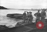 Image of American Army Corps of engineers rebuilding a bridge in South Korea during hostilities Korea, 1951, second 9 stock footage video 65675061713