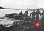 Image of American Army Corps of engineers rebuilding a bridge in South Korea during hostilities Korea, 1951, second 10 stock footage video 65675061713