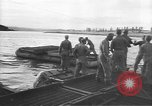 Image of American Army Corps of engineers rebuilding a bridge in South Korea during hostilities Korea, 1951, second 11 stock footage video 65675061713