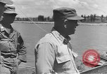 Image of American Army Corps of engineers rebuilding a bridge in South Korea during hostilities Korea, 1951, second 19 stock footage video 65675061713