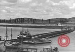 Image of American Army Corps of engineers rebuilding a bridge in South Korea during hostilities Korea, 1951, second 25 stock footage video 65675061713