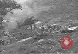 Image of American Army Corps of engineers rebuilding a bridge in South Korea during hostilities Korea, 1951, second 29 stock footage video 65675061713