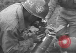 Image of American Army Corps of engineers rebuilding a bridge in South Korea during hostilities Korea, 1951, second 48 stock footage video 65675061713