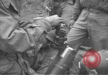 Image of American Army Corps of engineers rebuilding a bridge in South Korea during hostilities Korea, 1951, second 50 stock footage video 65675061713