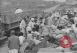Image of American Army Corps of engineers rebuilding a bridge in South Korea during hostilities Korea, 1951, second 54 stock footage video 65675061713
