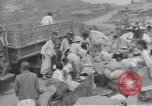 Image of American Army Corps of engineers rebuilding a bridge in South Korea during hostilities Korea, 1951, second 55 stock footage video 65675061713