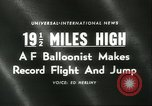 Image of Colonel Joseph Kittinger New Mexico United States USA, 1960, second 2 stock footage video 65675061726