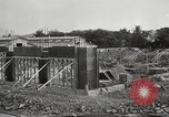 Image of construction site Hawaii USA, 1941, second 9 stock footage video 65675061755