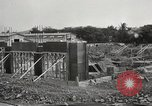 Image of construction site Hawaii USA, 1941, second 10 stock footage video 65675061755
