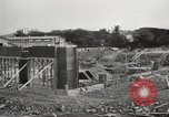 Image of construction site Hawaii USA, 1941, second 11 stock footage video 65675061755