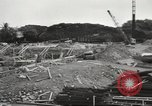 Image of construction site Hawaii USA, 1941, second 13 stock footage video 65675061755