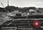 Image of construction site Hawaii USA, 1941, second 15 stock footage video 65675061755