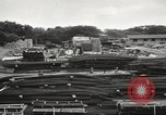 Image of construction site Hawaii USA, 1941, second 16 stock footage video 65675061755