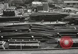 Image of construction site Hawaii USA, 1941, second 20 stock footage video 65675061755