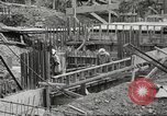 Image of construction site Hawaii USA, 1941, second 22 stock footage video 65675061755