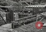 Image of construction site Hawaii USA, 1941, second 25 stock footage video 65675061755