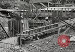 Image of construction site Hawaii USA, 1941, second 26 stock footage video 65675061755