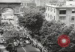 Image of massive military parade in New York City during World War 2 New York City USA, 1942, second 7 stock footage video 65675061763