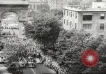 Image of massive military parade in New York City during World War 2 New York City USA, 1942, second 8 stock footage video 65675061763