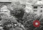 Image of massive military parade in New York City during World War 2 New York City USA, 1942, second 9 stock footage video 65675061763