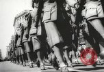Image of massive military parade in New York City during World War 2 New York City USA, 1942, second 36 stock footage video 65675061763