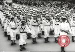 Image of massive military parade in New York City during World War 2 New York City USA, 1942, second 44 stock footage video 65675061763