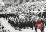 Image of massive military parade in New York City during World War 2 New York City USA, 1942, second 58 stock footage video 65675061763