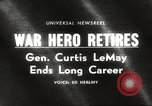 Image of General Curtis LeMay United States USA, 1965, second 1 stock footage video 65675061774