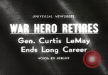 Image of General Curtis LeMay United States USA, 1965, second 2 stock footage video 65675061774