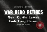 Image of General Curtis LeMay United States USA, 1965, second 3 stock footage video 65675061774