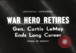 Image of General Curtis LeMay United States USA, 1965, second 4 stock footage video 65675061774