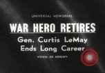 Image of General Curtis LeMay United States USA, 1965, second 5 stock footage video 65675061774