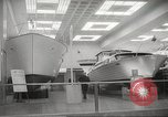 Image of annual boat show New York United States USA, 1966, second 49 stock footage video 65675061787