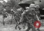 Image of United States troops Bong Son Vietnam, 1967, second 8 stock footage video 65675061806