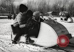 Image of World Snowmobile Championship Montreal Quebec Canada, 1967, second 8 stock footage video 65675061809