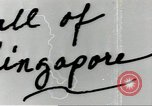 Image of fall of Singapore Singapore, 1942, second 1 stock footage video 65675061821