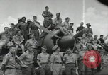 Image of Royal Netherlands Indies pilots Singapore Kallang Airfield, 1941, second 1 stock footage video 65675061822