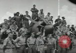 Image of Royal Netherlands Indies pilots Singapore Kallang Airfield, 1941, second 2 stock footage video 65675061822