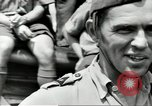 Image of Royal Netherlands Indies pilots Singapore Kallang Airfield, 1941, second 8 stock footage video 65675061822