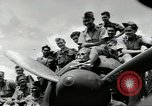 Image of Royal Netherlands Indies pilots Singapore Kallang Airfield, 1941, second 13 stock footage video 65675061822