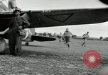 Image of Royal Netherlands Indies pilots Singapore Kallang Airfield, 1941, second 33 stock footage video 65675061822